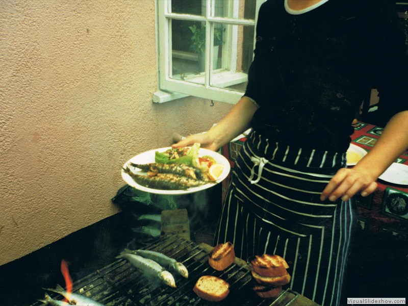 barbecue fish 1990s